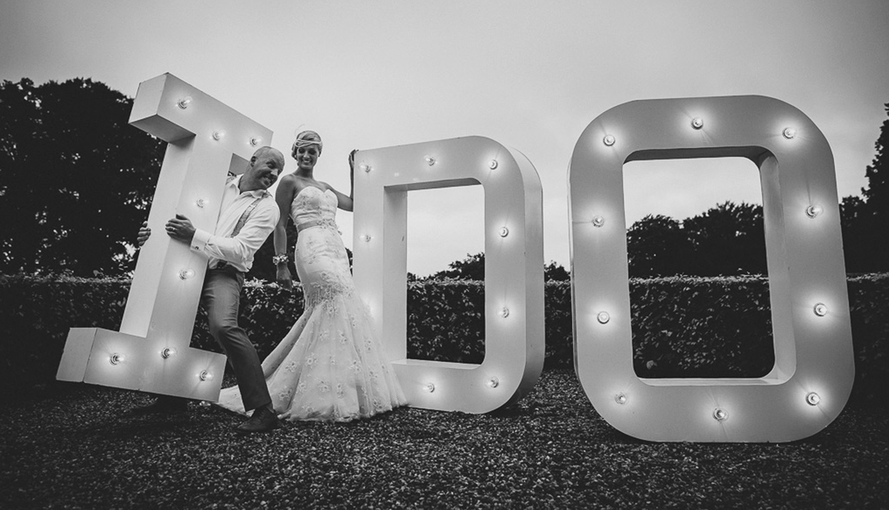 Marquee Letters Verlichting : Light up letters i do exclusief in nederland!
