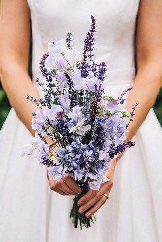 lavendel trouwboeket